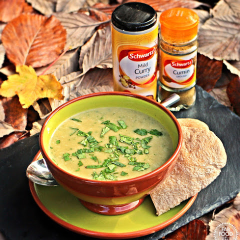Curried Parsnip and Coriander Soup