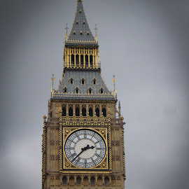 Big Ben by Mario Horvath - Novices Only Abstract ( england, tower, london, clock tower, big ben )