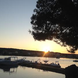by Zdenko Katanica - Instagram & Mobile iPhone ( zora, more, nature, sukošan, dalmacija, mobile phone, holidays, travel, sunrise, zadar, iphone, landscapes, hrvatska,  )