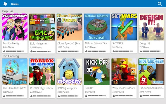 ROBLOX apk screenshot