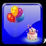 Birthday Photo Stickers Icon