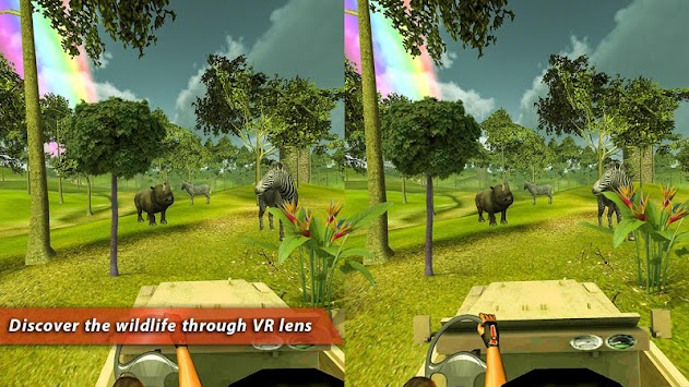 Safari Tours Adventures VR 4D apk screenshot