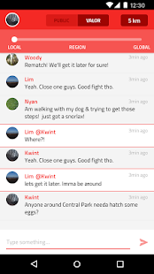 RazerGo chat for Pokémon GO