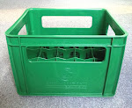 Green Color Beer Crate