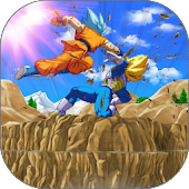 Goku Saiyan Battle Fight Z