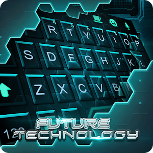 Neon Glow Keyboard Theme