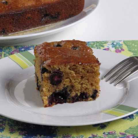 Melissa Clark's Maple Blueberry Tea Cake or was that Pan-Cake?