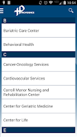 Screenshot of Providence Health System DC