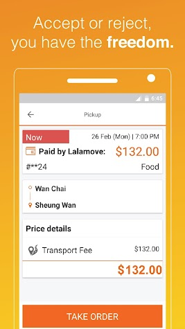 Lalamove Driver - Earn extra income with your car Screenshot