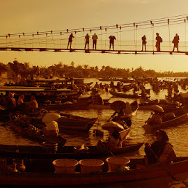 Floating Markets by Lay Sulaiman - Landscapes Sunsets & Sunrises
