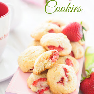 Strawberry Cookies With Fresh Strawberries Recipes