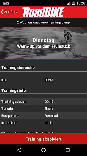 RoadBIKE Trainer - screenshot