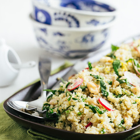 Radish and Quinoa Salad with White Beans