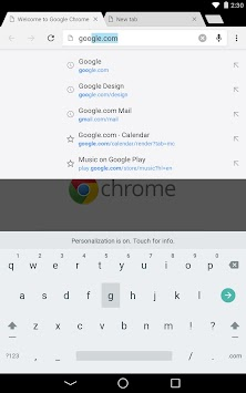Chrome Canary (nestabilen) APK screenshot thumbnail 11