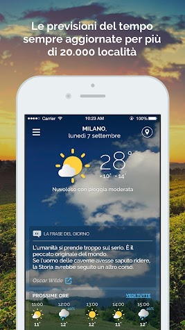 Meteo.it - Previsioni Meteo Screenshot