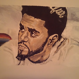 jcole by Trust Love - Painting All Painting ( jcole )