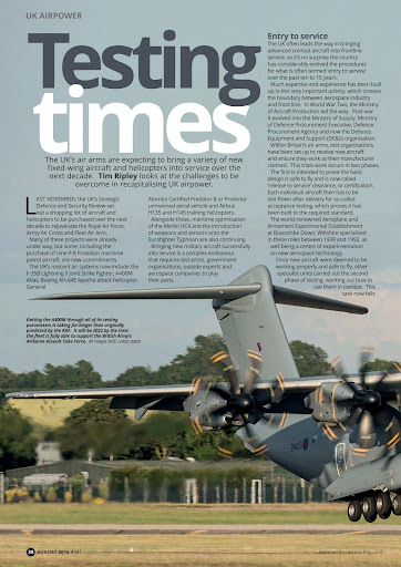 AirForces Monthly Magazine - screenshot