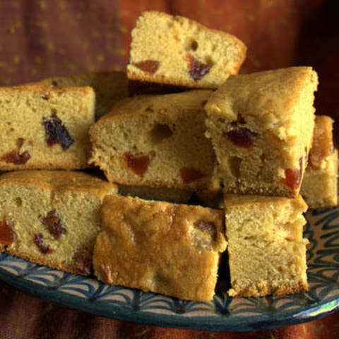 Golden Syrup & Plum Cake