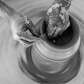 by Rakesh Syal - Black & White Objects & Still Life