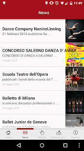 Centro Studi Danza Coppelia - screenshot