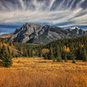 Autumn Mountain by Keri Harrish - Landscapes Mountains & Hills