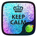 Keep Calm GO Keyboard theme APK for Bluestacks