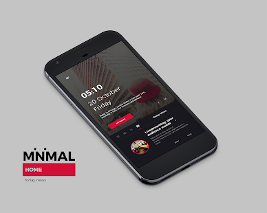 Minimales Heimthema für KLWP android apps download