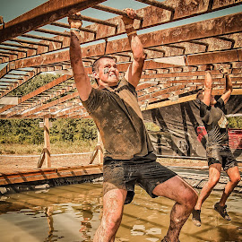 Yess we can !! by Dragan Rakocevic - Sports & Fitness Other Sports ( extre, mud, pool, sport, competiti, man )