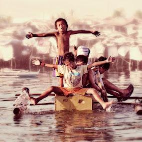 Playground by Rolando Pascua - Babies & Children Children Candids