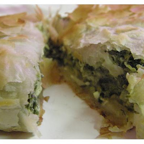 Phyllo Spinach Pie