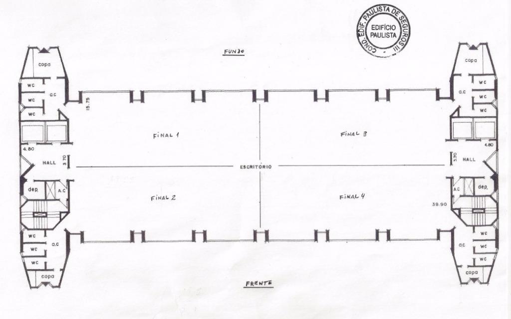 Conjunto Comercial para Locação - Brooklin