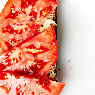 Tomato and Butter Tartine