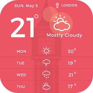 360 Weather Widget for Android