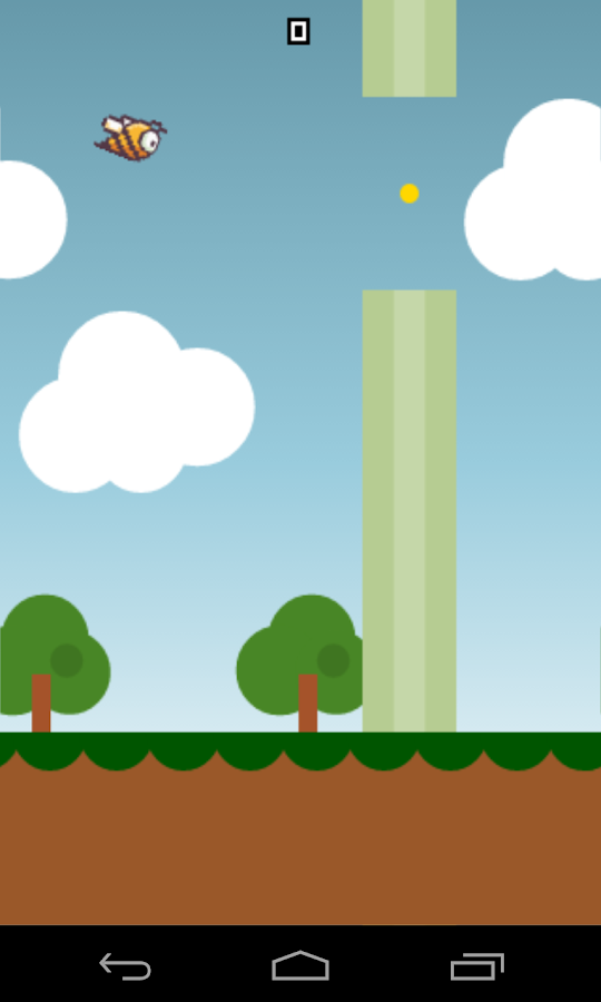 Flappy Bee Screenshot 2