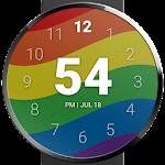 Rainbow Pride Watch Face Icon