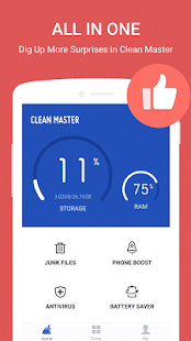 Clean Master (Boost&Antivirus) APK for Bluestacks