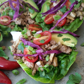 Spicy Asian Style Lettuce Wraps