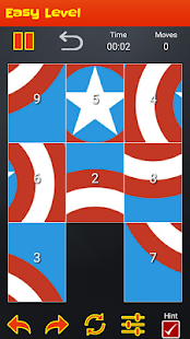 Superhero Logo Puzzle Quiz - screenshot