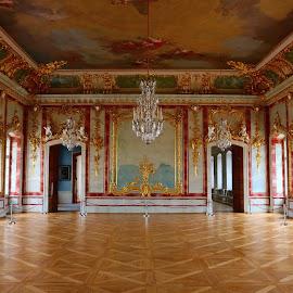 Palace Golden Hall by Atis Kalniņš - Buildings & Architecture Public & Historical ( historical place, interior, historical palace, rundale palace, historical interior, palace interior )