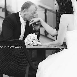 by Olga Belova - Wedding Bride & Groom