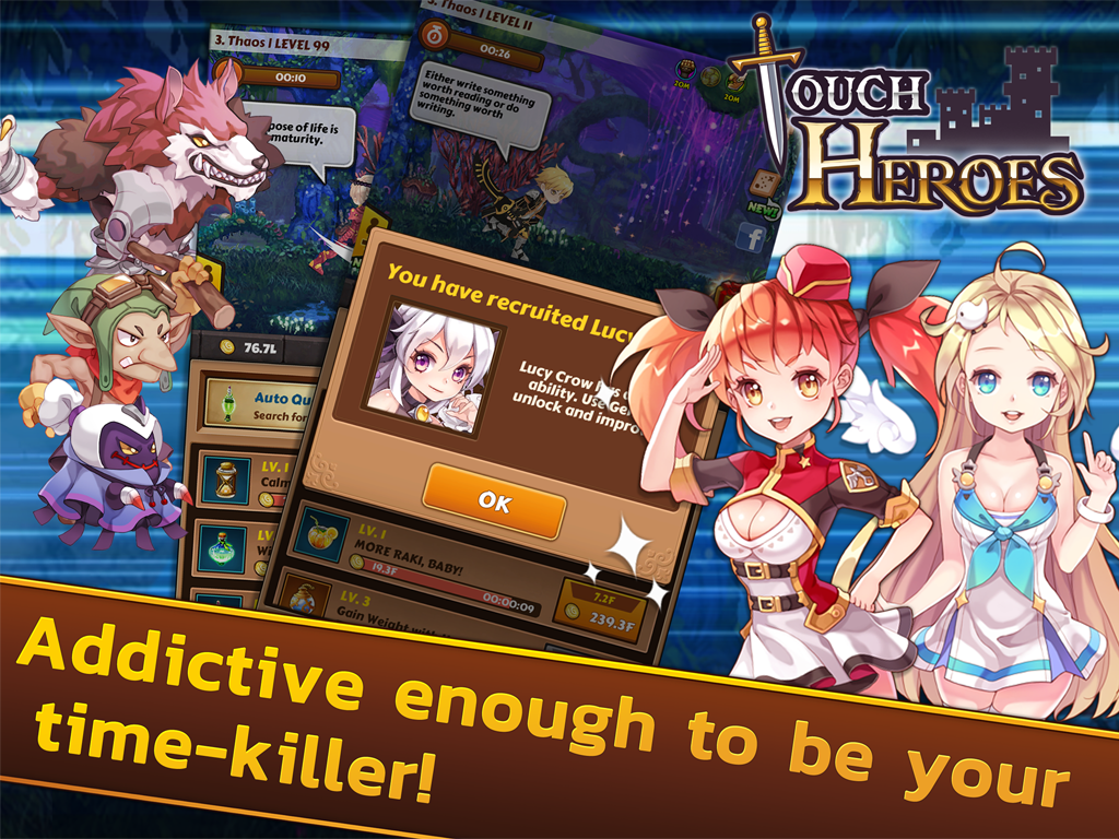 Touch Heroes Screenshot 5