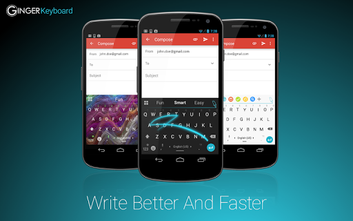 ginger-keyboard-emoji-keyboard for android screenshot