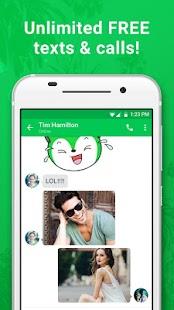 textPlus Free Text + Calls- screenshot thumbnail