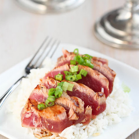 Soy-marinated Grilled Tuna