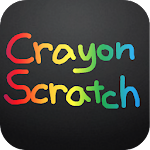 Crayon Scratch Icon