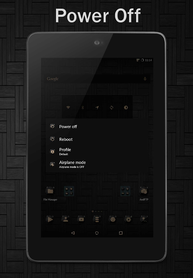 Black Gold CM12 CM13 Screenshot 15