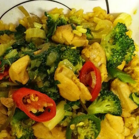 Thai Turmeric Chicken Stir Fry