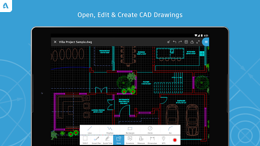 AutoCAD - DWG Viewer & Editor screenshot 15