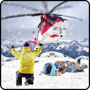 Cover art Helicopter Rescue Snow Storm