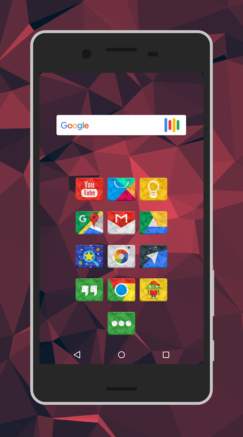 Rectron Icon Pack Theme Screenshot 1